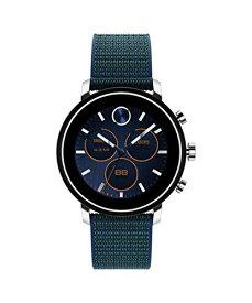 腕時計 モバード メンズ 【送料無料】Movado Connect 2.0 Unisex Powered with Wear OS by Google Stainless Steel and Navy Velcro Fabric Smartwatch, Color: Navy (Model: 3660030)腕時計 モバード メンズ
