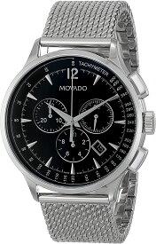 腕時計 モバード メンズ 【送料無料】Movado Men's 0606803 Movado Circa Stainless Steel Watch with Mesh Band腕時計 モバード メンズ