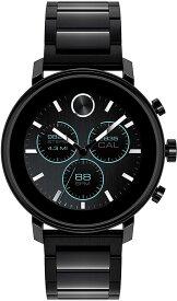 腕時計 モバード メンズ 【送料無料】Movado Connect 2.0 Unisex Powered with Wear OS by Google Stainless Steel and Ionic Plated Black Steel Smartwatch, Color: Black (Model: 3660037)腕時計 モバード メンズ