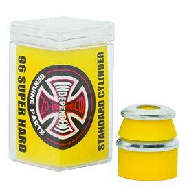 ブッシュ スケボー スケートボード 海外モデル 直輸入 【送料無料】Independent Standard Cylinder Cushions Yellow Skateboard Bushings - 2 Pair with Washers - 96aブッシュ スケボー スケートボード 海外モデル 直輸入