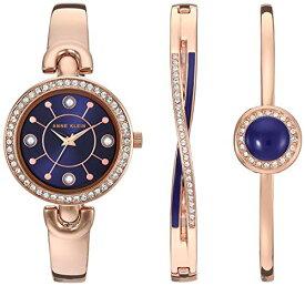 腕時計 アンクライン レディース 【送料無料】Anne Klein Women's Swarovski Crystal Accented Watch and Bangle Set, AK/3574腕時計 アンクライン レディース