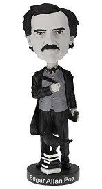 ボブルヘッド バブルヘッド 首振り人形 ボビンヘッド BOBBLEHEAD 【送料無料】Royal Bobbles Edgar Allan Poe Bobblehead - Limited Edition Black & White Versionボブルヘッド バブルヘッド 首振り人形 ボビンヘッド BOBBLEHEAD