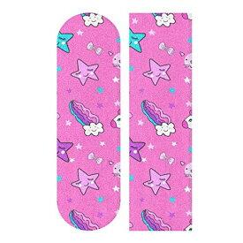デッキテープ グリップテープ スケボー スケートボード 海外モデル 【送料無料】ZHRX Longboard Griptape Cute Bright Colors Unicorn Girly Elements Skateboard Grip Tape Sheets ,Sandpaperデッキテープ グリップテープ スケボー スケートボード 海外モデル