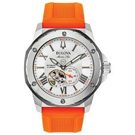 腕時計 ブローバ メンズ 【送料無料】Bulova Men's Analogue Automatic Watch with Silicone Strap 98A226腕時計 ブローバ メンズ
