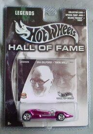 ホットウィール マテル ミニカー ホットウイール 【送料無料】Hot Wheels Hall of Fame Legends Ira Gilford Twin Mill Pink Chromeホットウィール マテル ミニカー ホットウイール