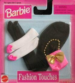 バービー バービー人形 着せ替え 衣装 ドレス 【送料無料】Barbie Fashion Touches Accessories - Black Pantyhose & More (1997 Arcotoys, Mattel)バービー バービー人形 着せ替え 衣装 ドレス
