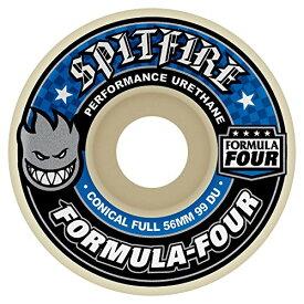 ウィール タイヤ スケボー スケートボード 海外モデル 【送料無料】Spitfire Formula Four 99 Conical Full (Blue Print) Wheels-56 mmウィール タイヤ スケボー スケートボード 海外モデル