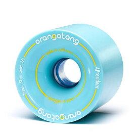 ウィール タイヤ スケボー スケートボード 海外モデル 【送料無料】Orangatang 4 President 70 mm 77a Cruising Longboard Skateboard Wheels (Blue, Set of 4)ウィール タイヤ スケボー スケートボード 海外モデル