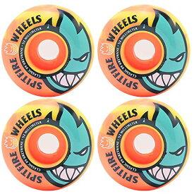 ウィール タイヤ スケボー スケートボード 海外モデル 【送料無料】Spitfire Skateboard Wheels Bighead Swirl 99A 53mm Orange/Yellowウィール タイヤ スケボー スケートボード 海外モデル