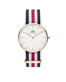 ダニエルウェリントン 腕時計 レディース 0502DW Daniel Wellington Classic Canterbury Watch, 36mmダニエルウェリントン 腕時計 レディース 0502DW