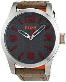 ヒューゴボス 高級腕時計 メンズ 1513351 BOSS Orange Men's Stainless Steel Quartz Watch with Leather Calfskin Strap, Beige, 24 (Model: 1513351)ヒューゴボス 高級腕時計 メンズ 1513351
