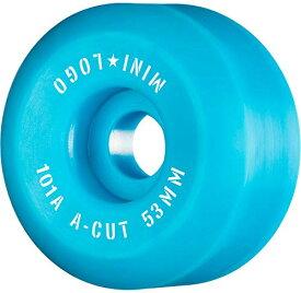 """ウィール タイヤ スケボー スケートボード 海外モデル 【送料無料】Mini Logo A-Cut 2"""" ? 53mm X 101A ? Blue, Model Number: WSBCMLAC25301B4ウィール タイヤ スケボー スケートボード 海外モデル"""