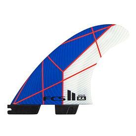 サーフィン フィン マリンスポーツ 【送料無料】FCS II KA PC Thruster Fin Set Blue/White Mediumサーフィン フィン マリンスポーツ