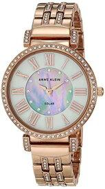 腕時計 アンクライン レディース 【送料無料】Anne Klein Considered Women's Solar Powered Swarovski Crystal Accented Bracelet Watch腕時計 アンクライン レディース