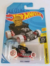 ホットウィール マテル ミニカー ホットウイール 【送料無料】Hot Wheels 2019 Experimotors 2/10 - Skull Shaker (Black)ホットウィール マテル ミニカー ホットウイール