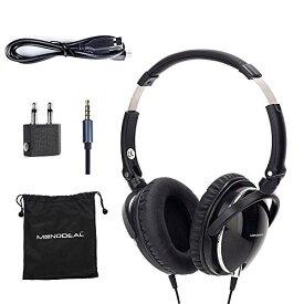 ノイズキャンセルヘッドホン ヘッドフォン イヤホン 海外 輸入 Mo-can1 【送料無料】Active Noise Cancelling Headphones with Mic, MonoDeal Over Ear Deep Bass Earphones, Folding and Liノイズキャンセルヘッドホン ヘッドフォン イヤホン 海外 輸入 Mo-can1
