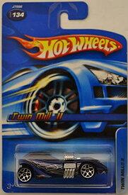 ホットウィール マテル ミニカー ホットウイール 【送料無料】Hot Wheels Twin Mill 2 Purple #134 1:64 Scale Collectible Die Cast Model Carホットウィール マテル ミニカー ホットウイール