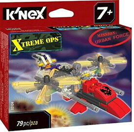 ケネックス 知育玩具 パズル ブロック 【送料無料】K'Nex Xtreme Ops Mission: Urban Forceケネックス 知育玩具 パズル ブロック