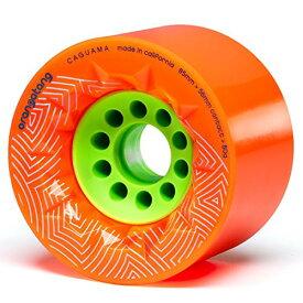 ウィール タイヤ スケボー スケートボード 海外モデル 【送料無料】Orangatang Caguama 85 mm 80a Downhill Longboard Skateboard Cruising Wheels w/Loaded Jehu V2 Bearings (Orange, Set of 4)ウィール タイヤ スケボー スケートボード 海外モデル
