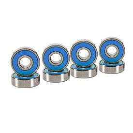 ベアリング スケボー スケートボード 海外モデル 直輸入 【送料無料】Cal 7 ABEC-7 Skateboard Bearings (Blue)ベアリング スケボー スケートボード 海外モデル 直輸入