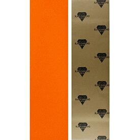 """デッキテープ グリップテープ スケボー スケートボード 海外モデル 【送料無料】Black Diamond Longboard Skateboard Grip Tape Sheet 10"""" x 48"""" Orangeデッキテープ グリップテープ スケボー スケートボード 海外モデル"""