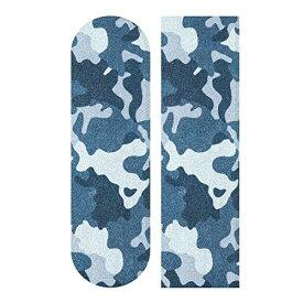 """デッキテープ グリップテープ スケボー スケートボード 海外モデル 【送料無料】YYZZH Blue Camouflage Pattern Army Military Camo Design Skateboard Grip Tape 9""""x33"""" Anti Slip Sandpaper Loデッキテープ グリップテープ スケボー スケートボード 海外モデル"""