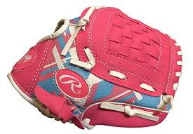 グローブ 内野手用ミット ローリングス 野球 ベースボール 【送料無料】Rawlings Remix Series Youth Tball/Baseball Glove, Right Hand Throw, Pink/Blue/White, 9 Inch (Ages 3-5) (AMAREM91P-6/0)グローブ 内野手用ミット ローリングス 野球 ベースボール