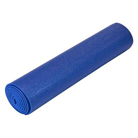 ヨガマット フィットネス 【送料無料】YogaDirect Deluxe 1/4-Inch Thick Yoga Mat, Dark Blueヨガマット フィットネス