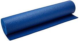 """ヨガマット フィットネス 【送料無料】YogaDirect 1/4"""" Deluxe Extra Thick Yoga Sticky Mat, Royal Blueヨガマット フィットネス"""