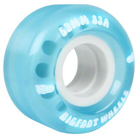 ウィール タイヤ スケボー スケートボード 海外モデル 【送料無料】Bigfoot Skateboard Wheels 53mm 83A Soft Cruiser Filmer Wheels Blue (Set of 4)ウィール タイヤ スケボー スケートボード 海外モデル