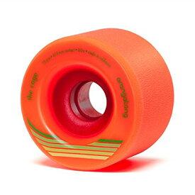 ウィール タイヤ スケボー スケートボード 海外モデル 【送料無料】Orangatang Cage 73 mm 80a Freeride Longboard Skateboard Wheels w/Loaded Jehu V2 Bearings (Orange, Set of 4)ウィール タイヤ スケボー スケートボード 海外モデル