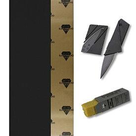 デッキテープ グリップテープ スケボー スケートボード 海外モデル 【送料無料】Black Diamond 9x33 Orange Skateboard Griptape + Grip Knife + Grip Cleanerデッキテープ グリップテープ スケボー スケートボード 海外モデル