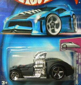 ホットウィール マテル ミニカー ホットウイール 【送料無料】Hot Wheels Mattel 2004 First Editions Black Hardnoze Twin Mill #020 1:64 Scaleホットウィール マテル ミニカー ホットウイール