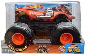 ホットウィール マテル ミニカー ホットウイール 【送料無料】Hot Wheels Monster Trucks 1:24 Scale Twin Mill New for 2020, Orangeホットウィール マテル ミニカー ホットウイール