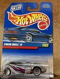 ホットウィール マテル ミニカー ホットウイール 【送料無料】Mattel Hot Wheels 1997 TWIN MILL II : Silver 1:64 Scale Die Cast Car #783-Collectorホットウィール マテル ミニカー ホットウイール