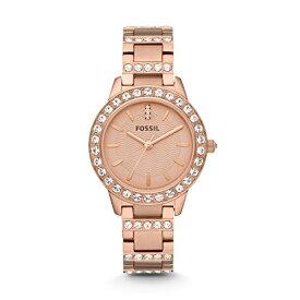 フォッシル 腕時計 レディース ES3020 Fossil Women's Jesse Quartz Stainless Steel Dress Watch, Color: Rose Gold-Tone (Model: ES3020)フォッシル 腕時計 レディース ES3020
