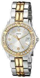 ゲス GUESS 腕時計 レディース U0026L1 GUESS Silver + Gold-Tone Bracelet Watch with Date Feature. Color: Silver/Gold-Tone (Model: U0026L1)ゲス GUESS 腕時計 レディース U0026L1