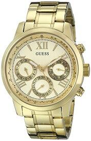 ゲス GUESS 腕時計 レディース U0330L1 GUESS Classic Gold-Tone Stainless Steel Bracelet Watch with Day, Date + 24 Hour Military/Int'l Time. Color: Gold-Tone (Model: U0330L1)ゲス GUESS 腕時計 レディース U0330L1