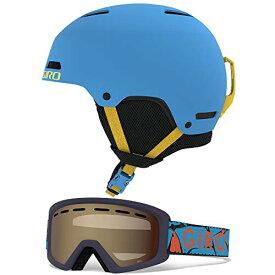 スノーボード ウィンタースポーツ 海外モデル ヨーロッパモデル アメリカモデル 【送料無料】Giro Crue Kids Snow Helmet Goggle Combo Matte Shock Blue/Blue Rock S (52-55.5CM)スノーボード ウィンタースポーツ 海外モデル ヨーロッパモデル アメリカモデル