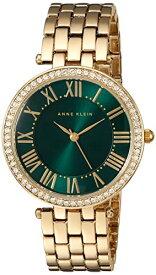 腕時計 アンクライン レディース 【送料無料】Anne Klein Women's AK/2230GNGB Swarovski Crystal Accented Gold-Tone Bracelet Watch腕時計 アンクライン レディース