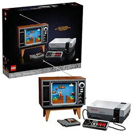 レゴ 【送料無料】LEGO Nintendo Entertainment System 71374 Building Kit; Creative Set for Adults; Build Your Own NES and TV, New 2021 (2,646 Pieces)レゴ
