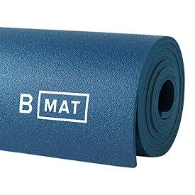 """ヨガマット フィットネス 【送料無料】B YOGA Mat for Men and Women, 6mm Thick, 71"""" x 26"""", Deep Blue - 100% Rubber, Non-Slip Floor Workout Mat for Yogis, with Superior Cushioning for Comfort - Premium Fitness and Pilateヨガマット フィットネス"""