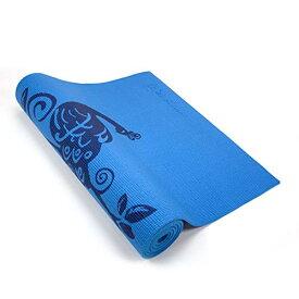 ヨガマット フィットネス 【送料無料】Wai Lana Yoga and Pilates Mat (Himalaya, Blue)- 1/4 Inch Extra Thick Non-Slip Stylish, Latex-Free, Lightweight, Optimum Comfortヨガマット フィットネス