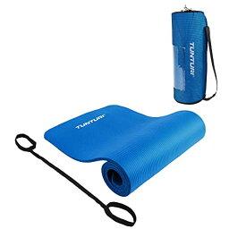 ヨガマット フィットネス 【送料無料】Tunturi Non Slip Fitness and Yoga Mat, Blueヨガマット フィットネス