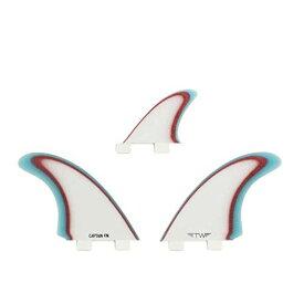 サーフィン フィン マリンスポーツ 【送料無料】Captain Fin Co. Tyler Warren Twin Especial Surfboard Fins - Twin Tab - 3 Fin Set - Blueサーフィン フィン マリンスポーツ