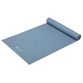 ヨガマット フィットネス 【送料無料】Gaiam Yoga Mat Premium Solid Color Non Slip Exercise & Fitness Mat for All Types of Yoga, Pilates & Floor Workouts, Blue Shadow, 5mmヨガマット フィットネス