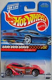 ホットウィール マテル ミニカー ホットウイール 【送料無料】HOT WHEELS GAME OVER SERIES 4 OF 4 CARS PINK TWIN MILL IIホットウィール マテル ミニカー ホットウイール
