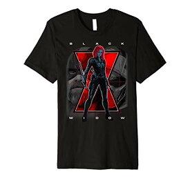 Tシャツ キャラクター ファッション トップス 海外モデル 【送料無料】Marvel Black Widow Big Three Logo Premium T-ShirtTシャツ キャラクター ファッション トップス 海外モデル