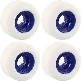 ウィール タイヤ スケボー スケートボード 海外モデル 【送料無料】Powerflex Skateboards Gumball White / Blue Skateboard Wheels - 60mm 83b (Set of 4)ウィール タイヤ スケボー スケートボード 海外モデル