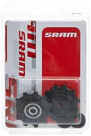 スプロケット フリーホイール ギア パーツ 自転車 GPS6 【送料無料】SRAM 11.7518.018.000 Jockey Wheel Set for X0 Type 2 Rear Derailleur (1 Pair), Whiteスプロケット フリーホイール ギア パーツ 自転車 GPS6